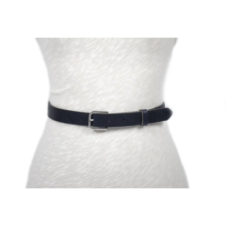 cinturón de piel negro 2.5cm handmade in barcelona unisex cuero vacuno hebilla níquel mate